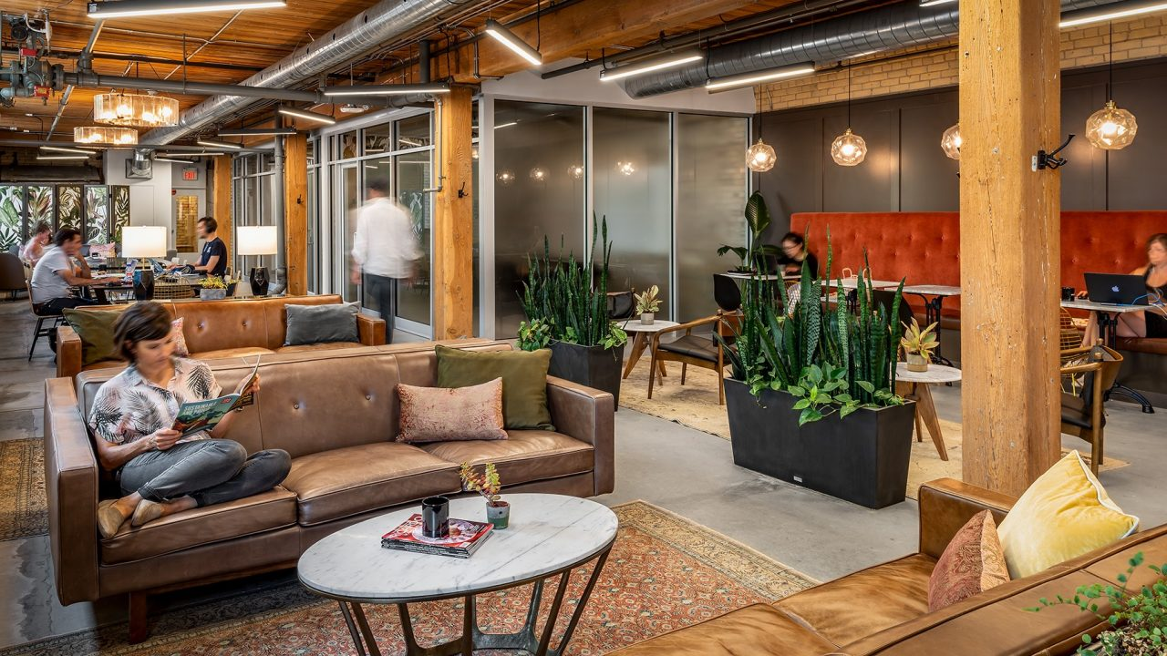 Coworking space at Queen West