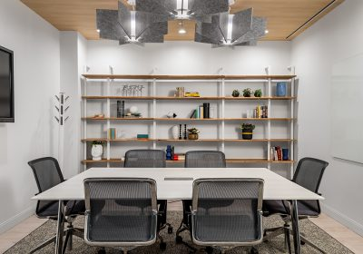 Stylish, small meeting room at Workplace One Peter Street